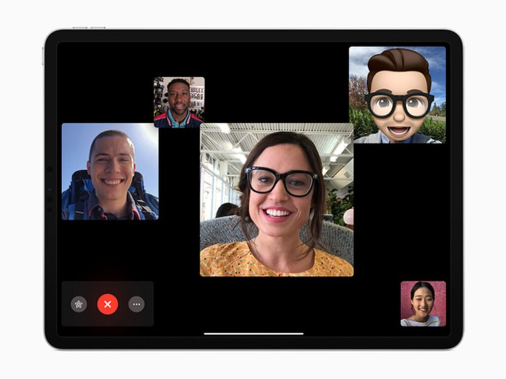Facetime Group calls allows you to see everyone on my video call