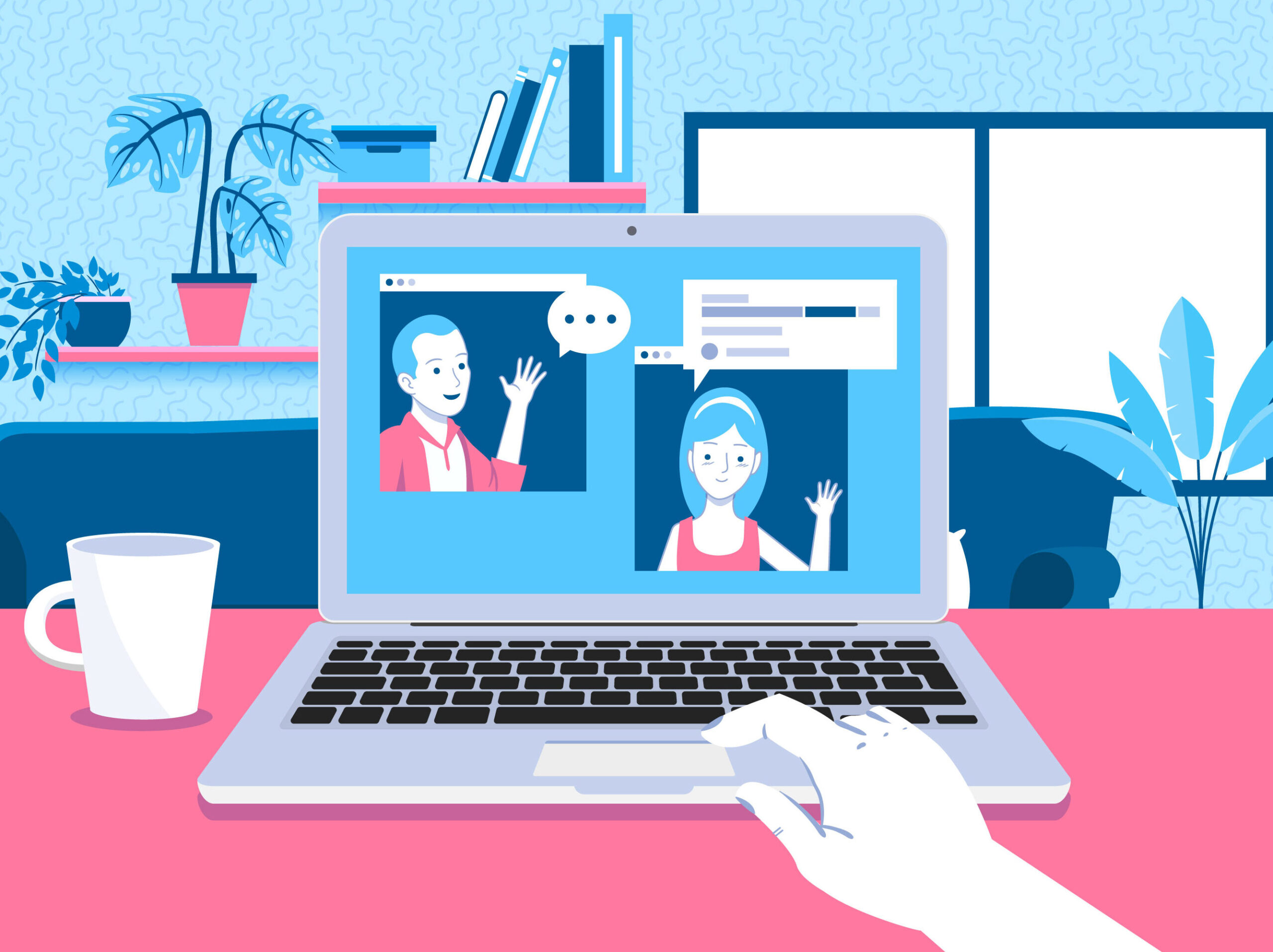 Remote work by the numbers: Latest research & stats on working from home